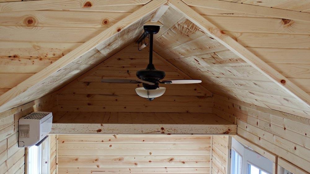 Loft and ceiling fan - Phoenix by Tiny Idahomes