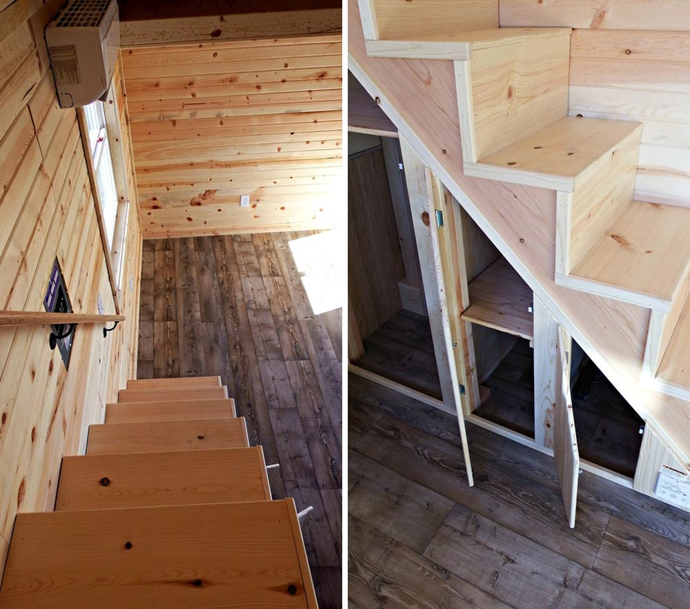 Storage stairs - Phoenix by Tiny Idahomes
