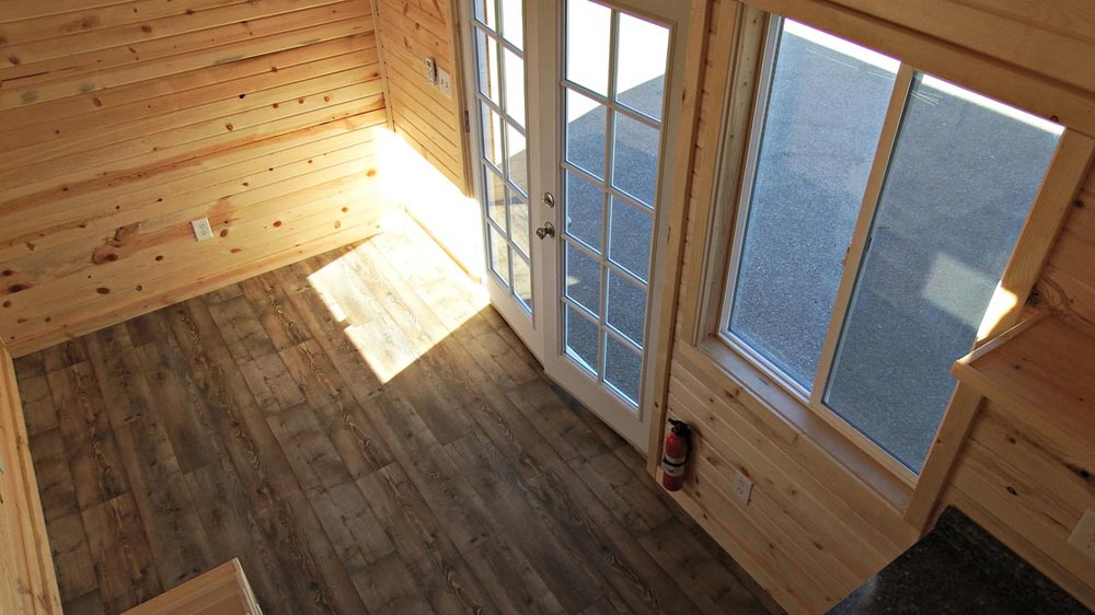 Pine Tongue and Groove Interior - Phoenix by Tiny Idahomes