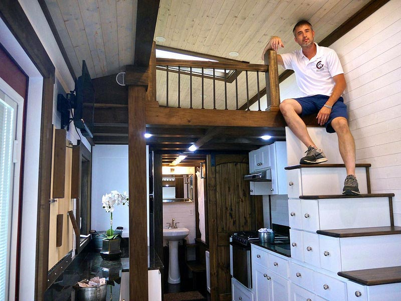 Mike Bedsole, Founder of Tiny House Chattanooga