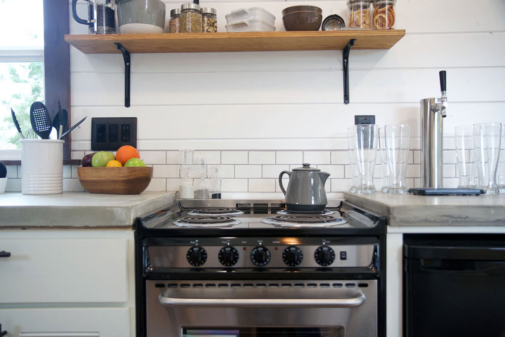 Electric range - Northwest Haven by Tiny Heirloom