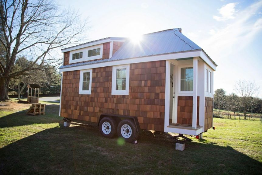 20' Tiny House on Wheels - Pecan by Perch & Nest
