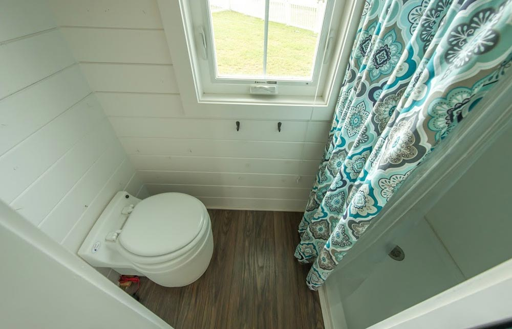 "Bathroom with 32""x32"" shower - Pecan by Perch & Nest"