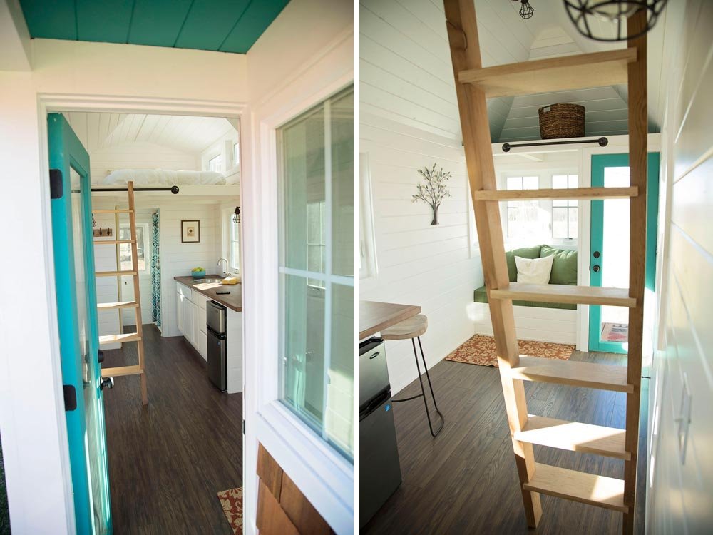 French door and cedar ladder - Pecan by Perch & Nest