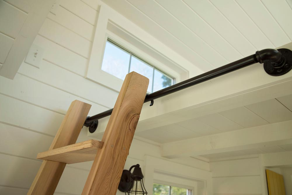 Removeable ladder to loft - Pecan by Perch & Nest