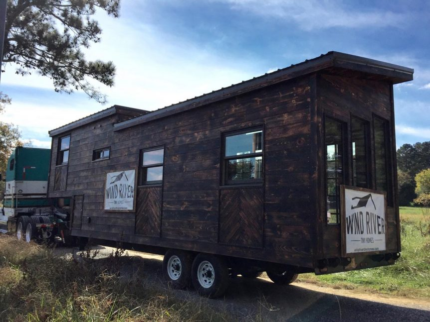 Shou Sugi Ban Exterior - Wind River Tiny Homes