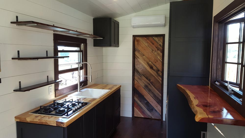 Hickory Butcher Block Counter - Wind River Tiny Homes