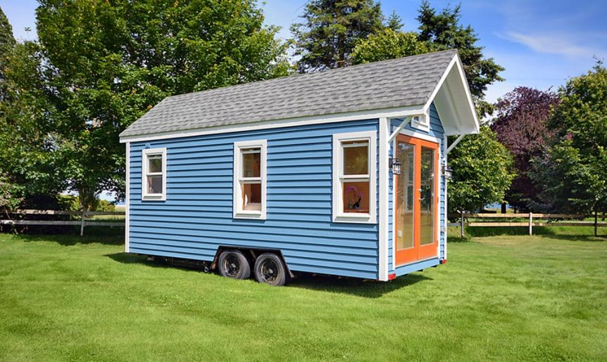 20' Tiny House w/ Metal Framing - Poco Edition by Mint Tiny Homes