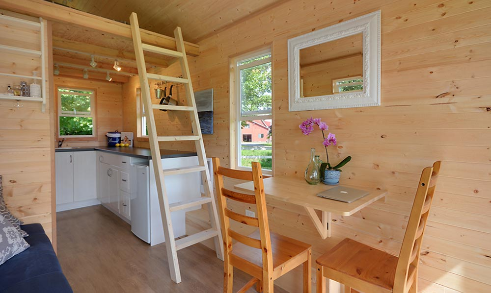 Tiny House Interior - Poco Edition by Mint Tiny Homes