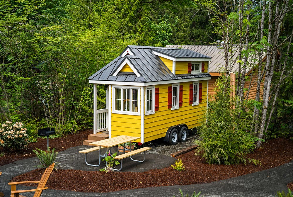 Tiny house for nightly rental - Lincoln at Mt. Hood Tiny House Village