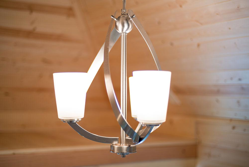 Light fixture - Lincoln at Mt. Hood Tiny House Village