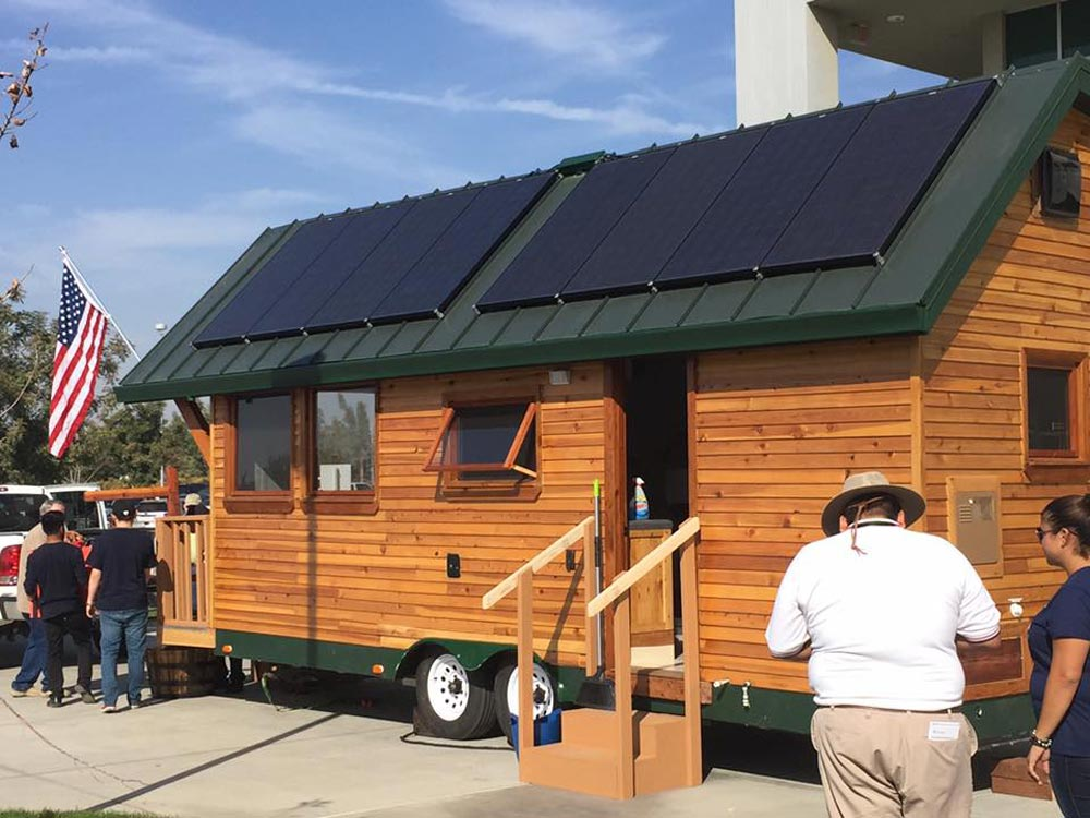Solar Tiny House - College of the Sequoias