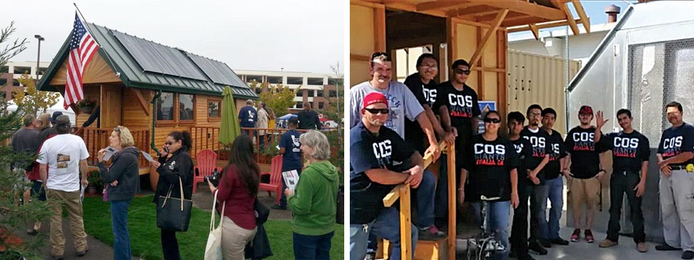Tiny House Team - College of the Sequoias