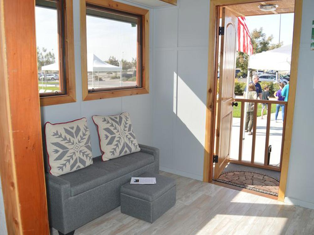 Living Room - College of the Sequoias Tiny House