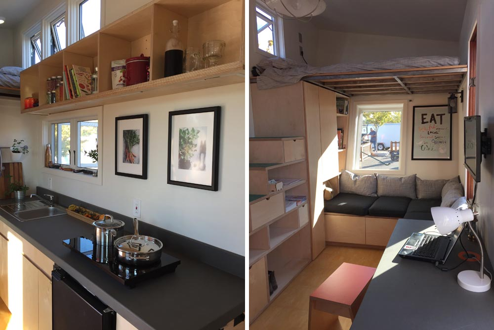 Kitchen and Living Room - The Wedge by Laney College
