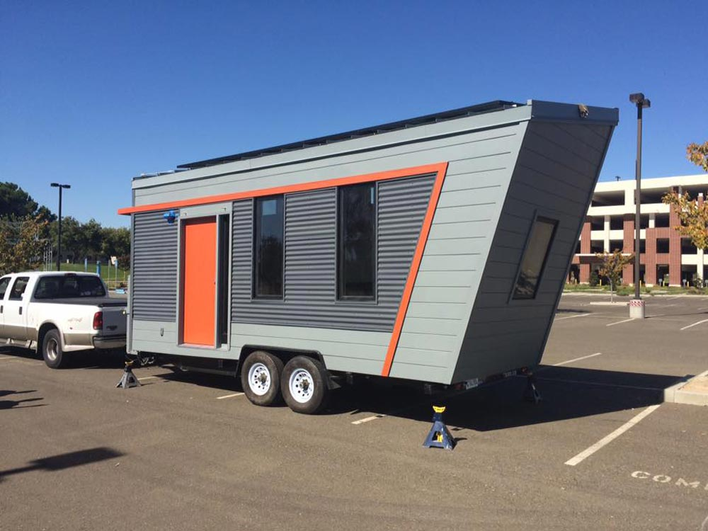Net Zero Tiny House - The Wedge by Laney College