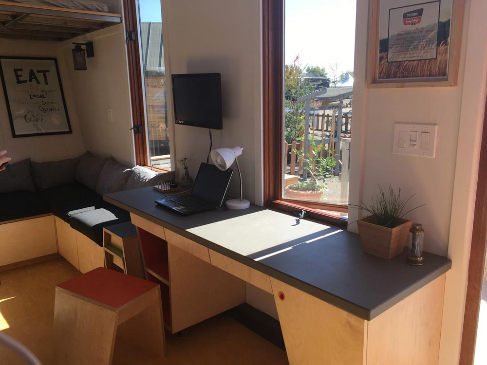 Built-In Desk - The Wedge by Laney College