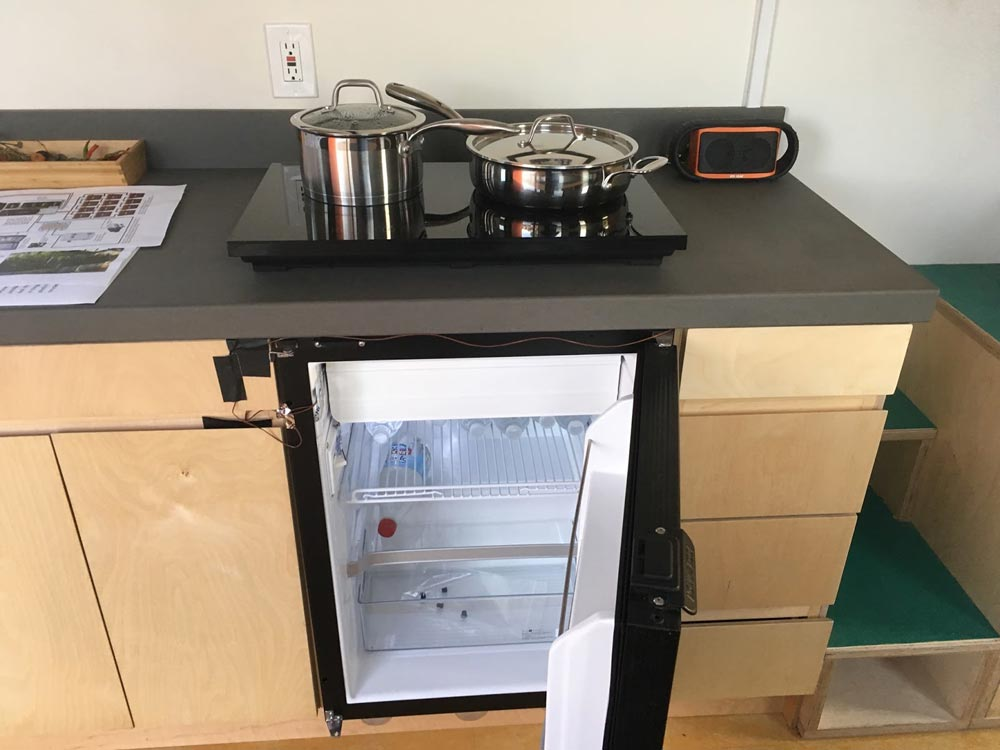 Refrigerator and cooktop - The Wedge by Laney College