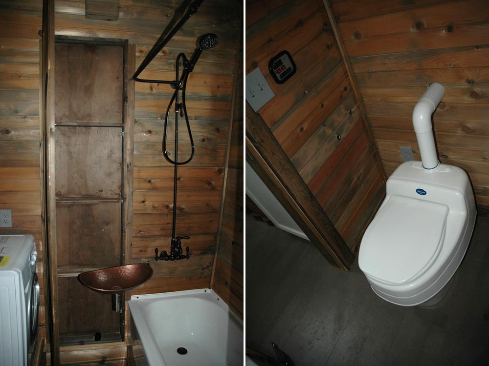 Composting toilet - Zamora Vardo by Tiny Idahomes