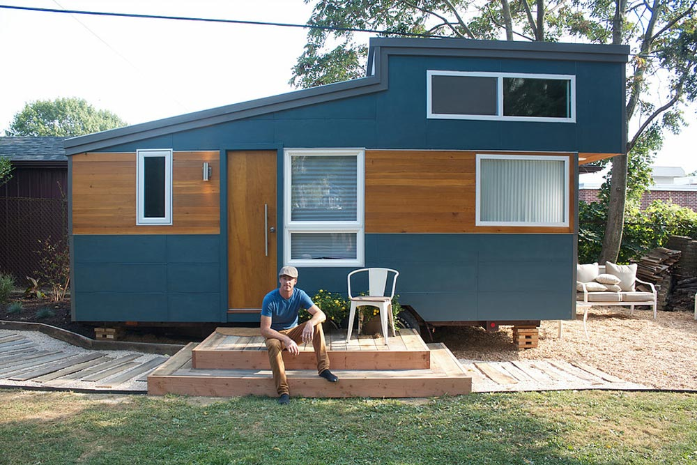 230 sq.ft. Tiny House on Wheels - Liberation Tiny Homes