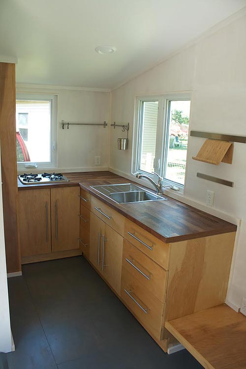 Kitchen - Liberation Tiny Homes