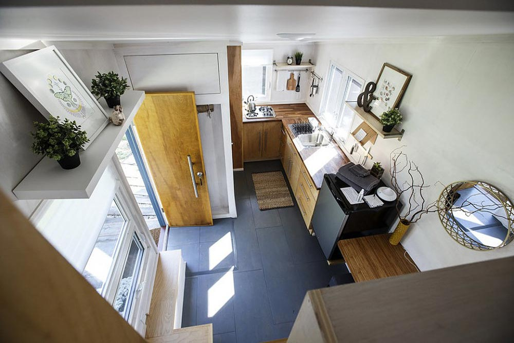 Aerial View - Liberation Tiny Homes