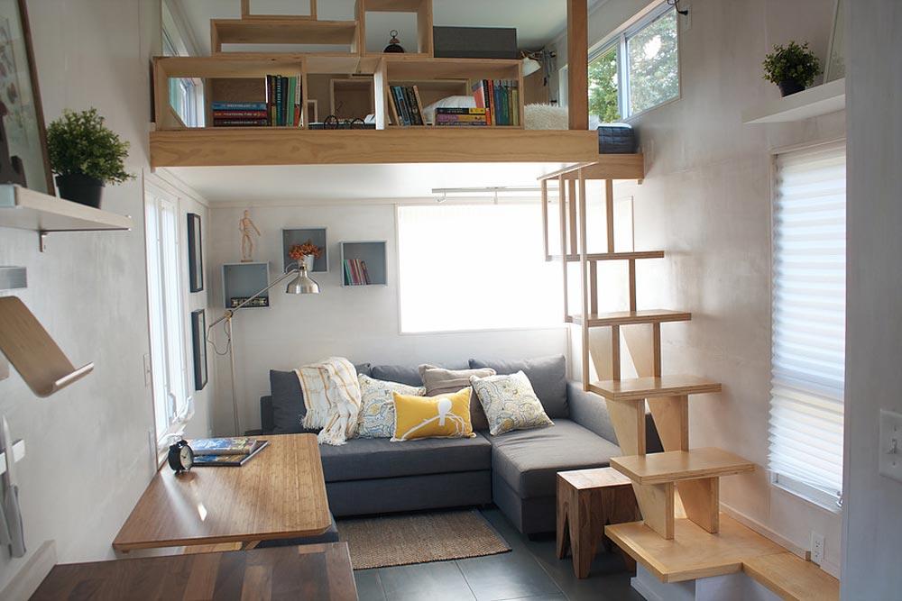 Living Room - Liberation Tiny Homes