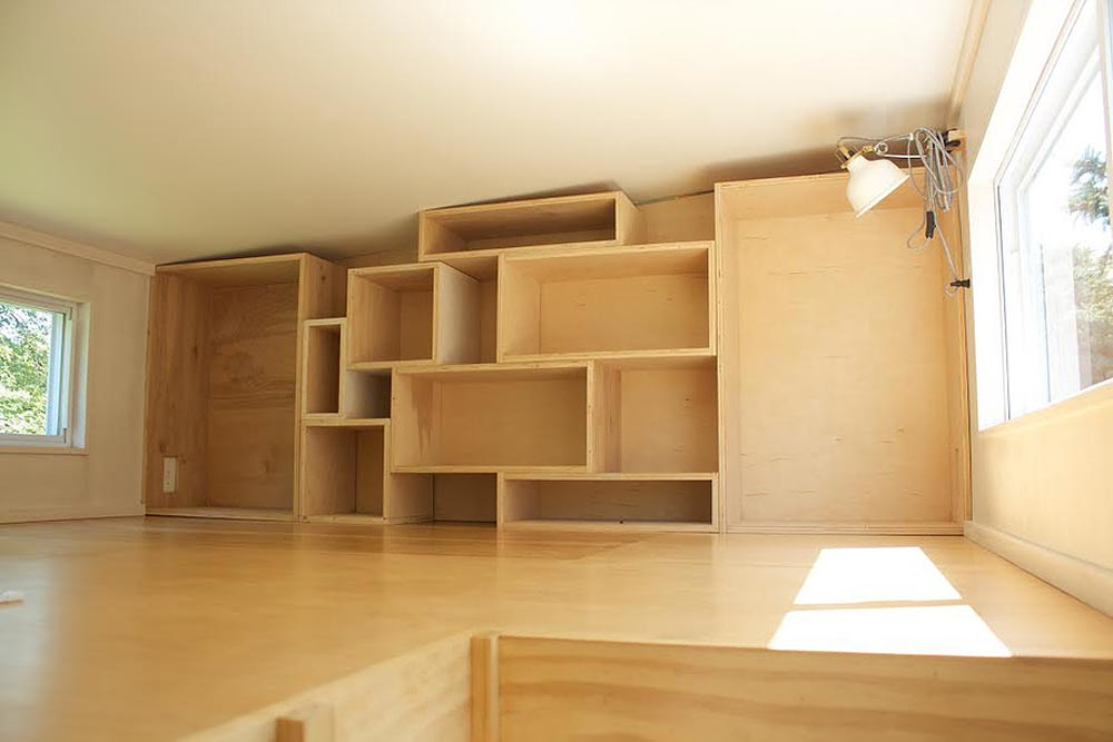 Loft Storage Cubes - Liberation Tiny Homes