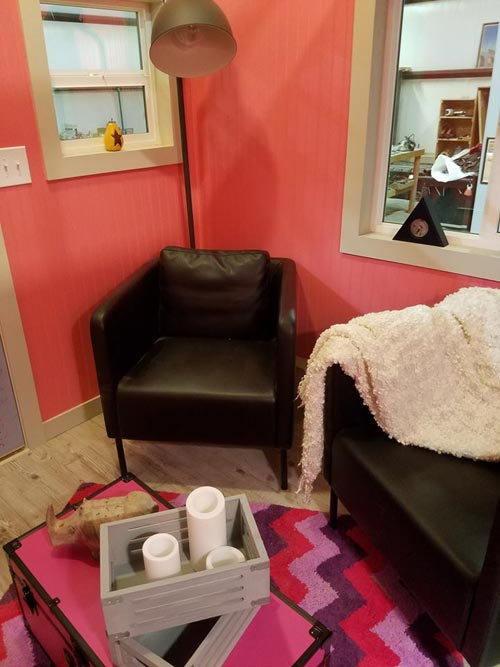Living Room Chairs - Sarah's Autistic Tiny Home by Maximus Extreme