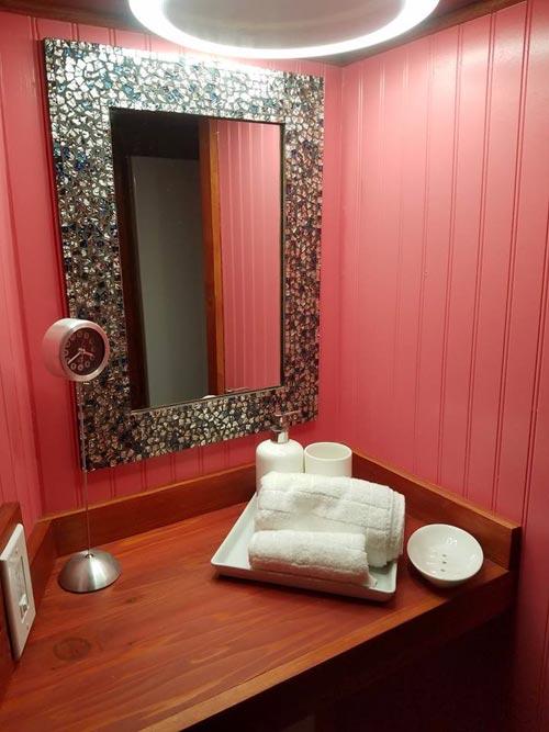 Bathroom - Sarah's Autistic Tiny Home by Maximus Extreme