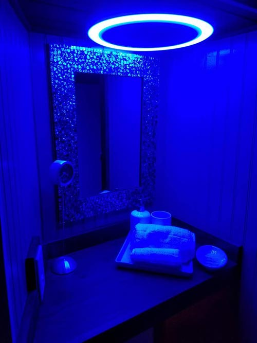 Bathroom Nightlight - Sarah's Autistic Tiny Home by Maximus Extreme