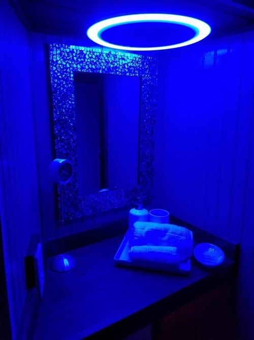 Bathroom Nightlight - Sarah's Autistic Tiny Home by Maximus Extreme