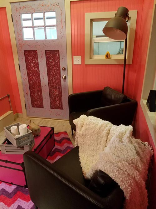 Living Room - Sarah's Autistic Tiny Home by Maximus Extreme