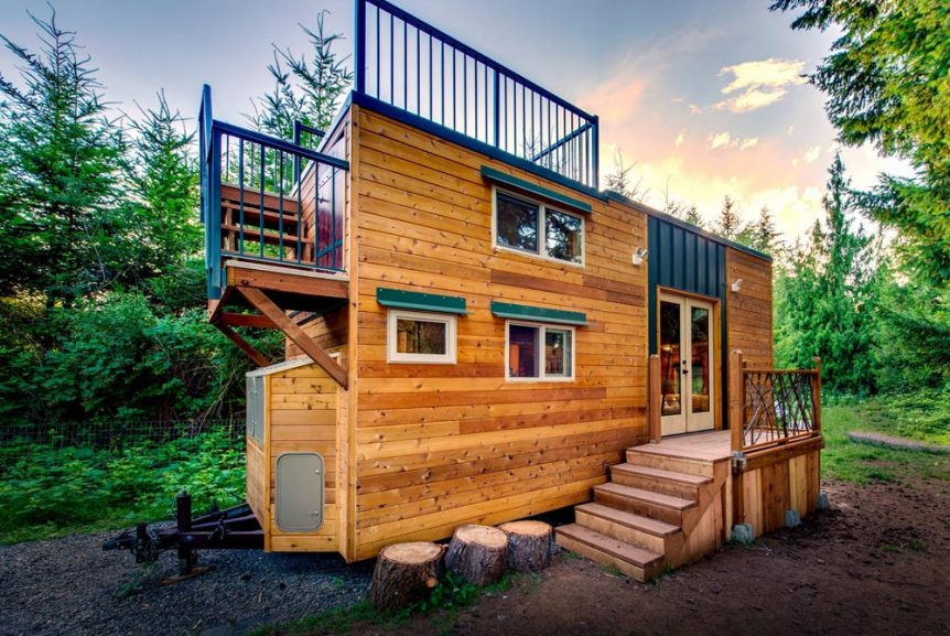 204 sq.ft. Tiny House - Basecamp by Backcountry Tiny Homes