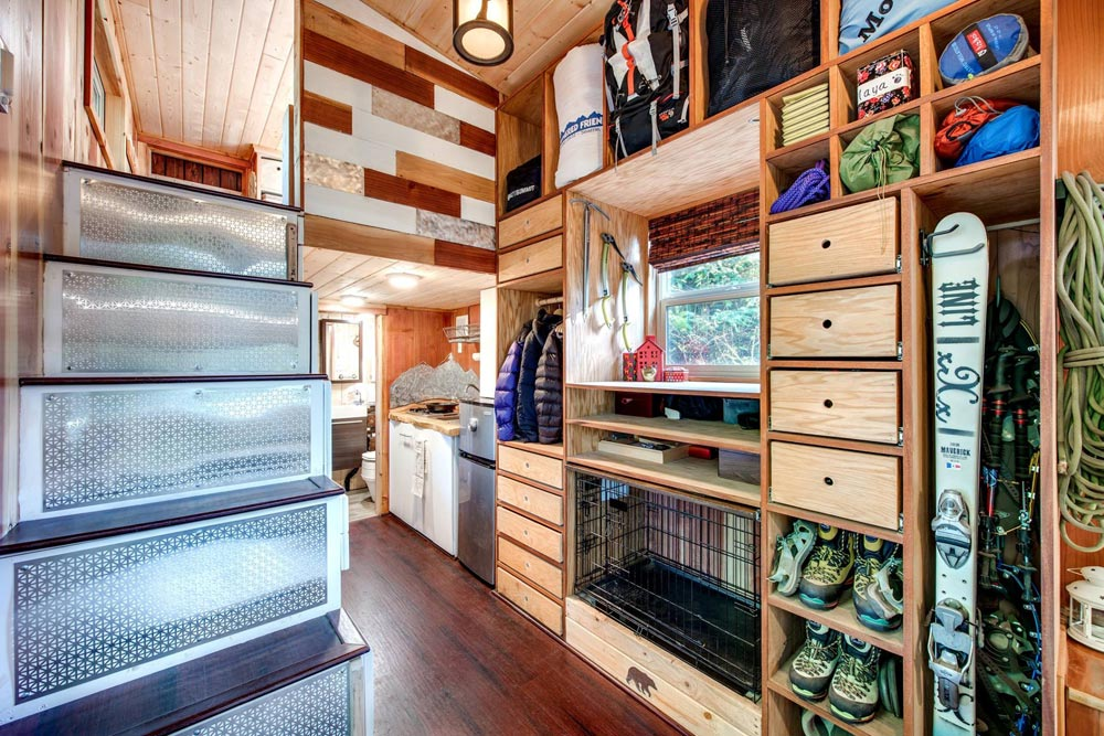 Lots of Storage Space - Basecamp by Backcountry Tiny Homes
