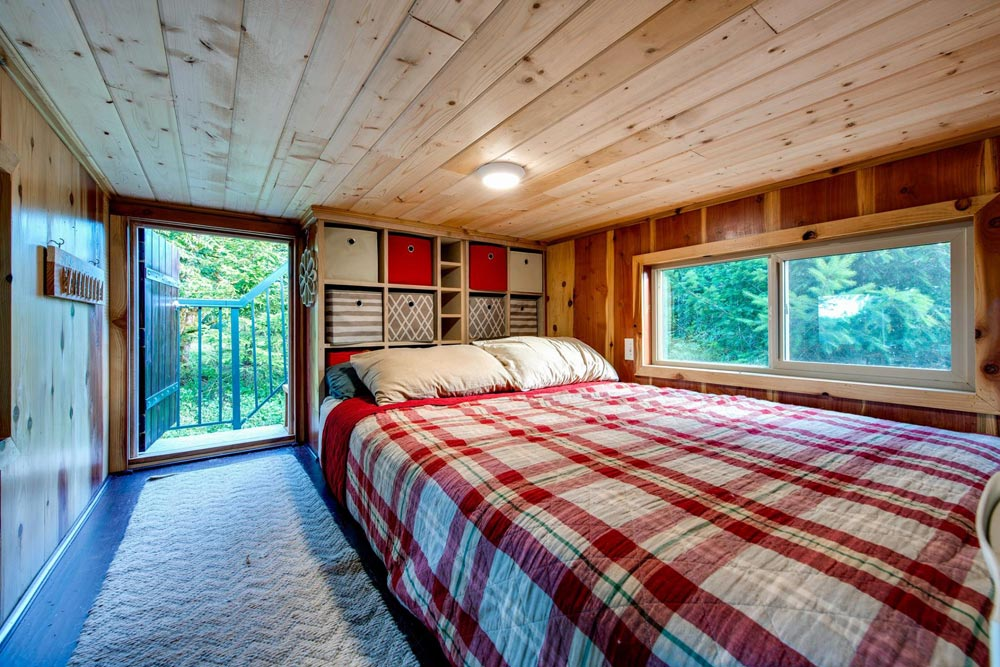 Bedroom Loft - Basecamp by Backcountry Tiny Homes