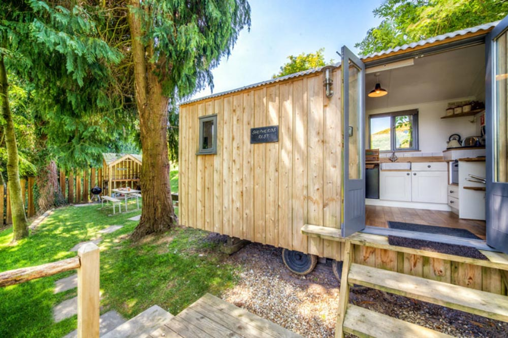 Exterior Premium Wood Paneling - Bayview by Cali Cottages
