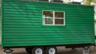 Painted Cedar Siding - Green Bean by Perch & Nest