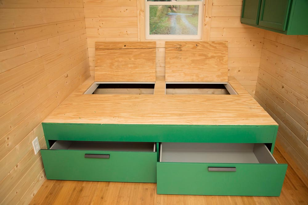 Storage Under Bed - Green Bean by Perch & Nest