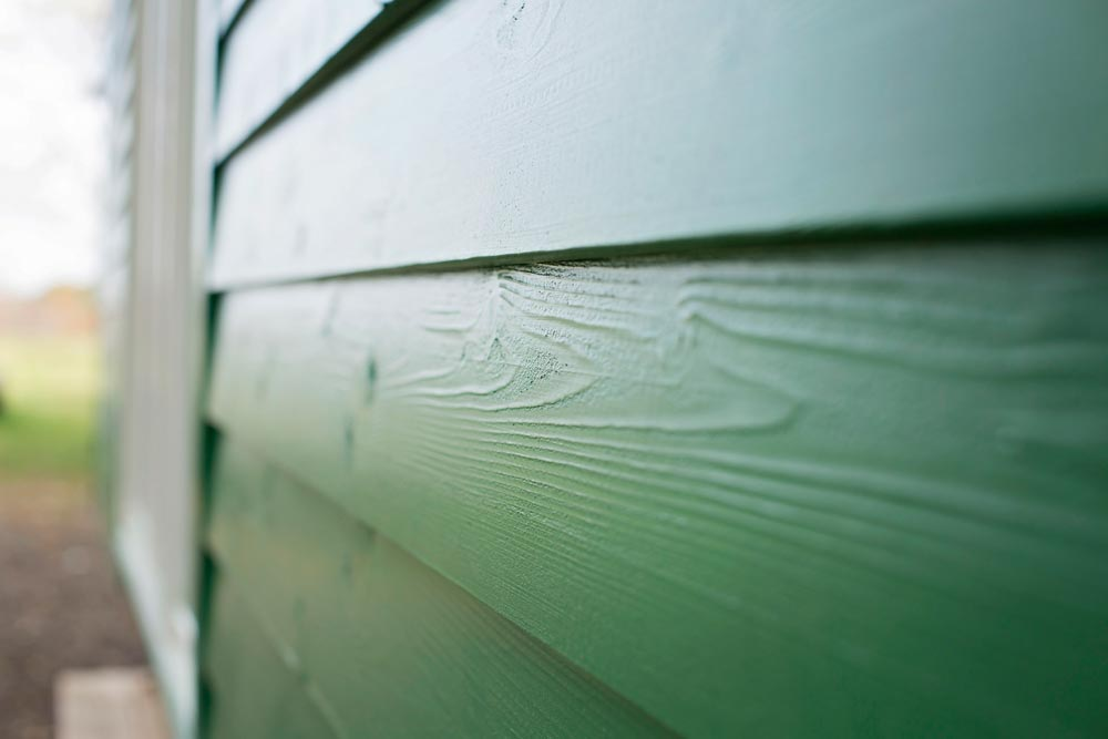 Green Cedar Siding - Green Bean by Perch & Nest