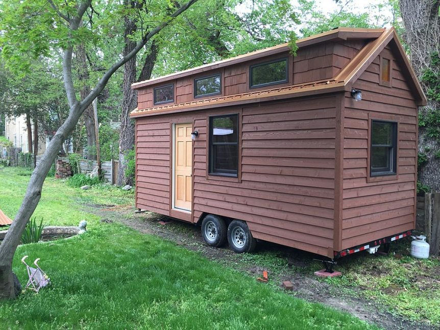 Tiny House on Wheels - Brownie by Liberation Tiny Homes