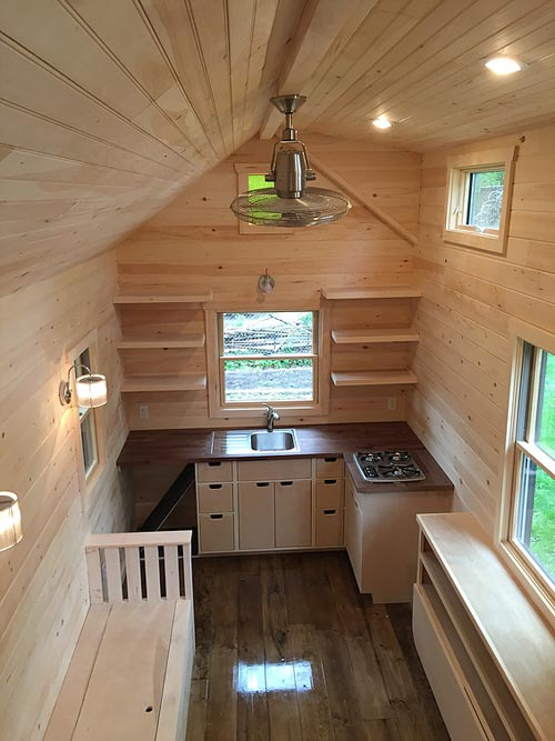 High ceiling w/ dormer - Brownie by Liberation Tiny Homes