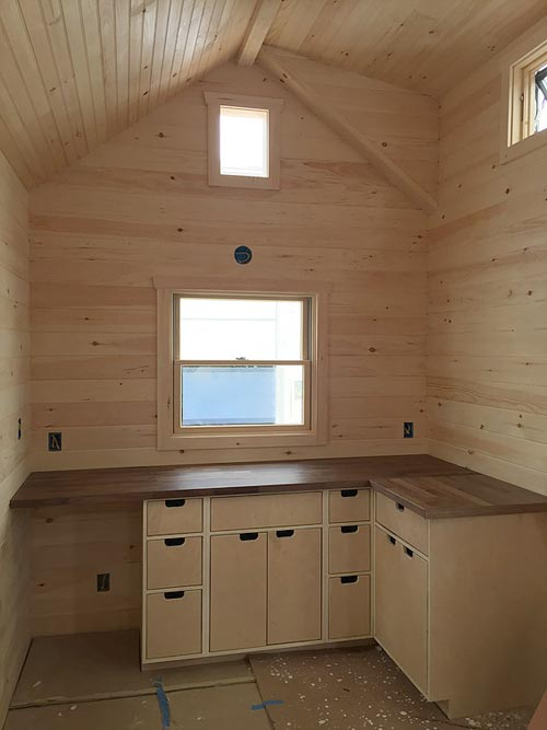 Kitchen cabinets - Brownie by Liberation Tiny Homes