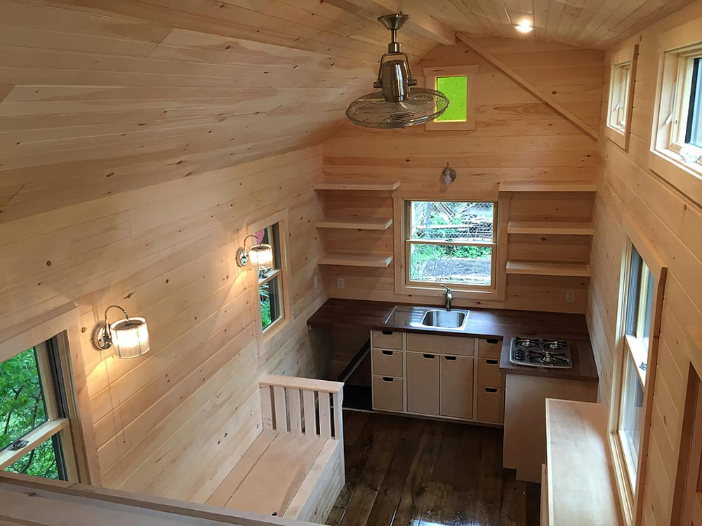 Tiny House Interior - Brownie by Liberation Tiny Homes