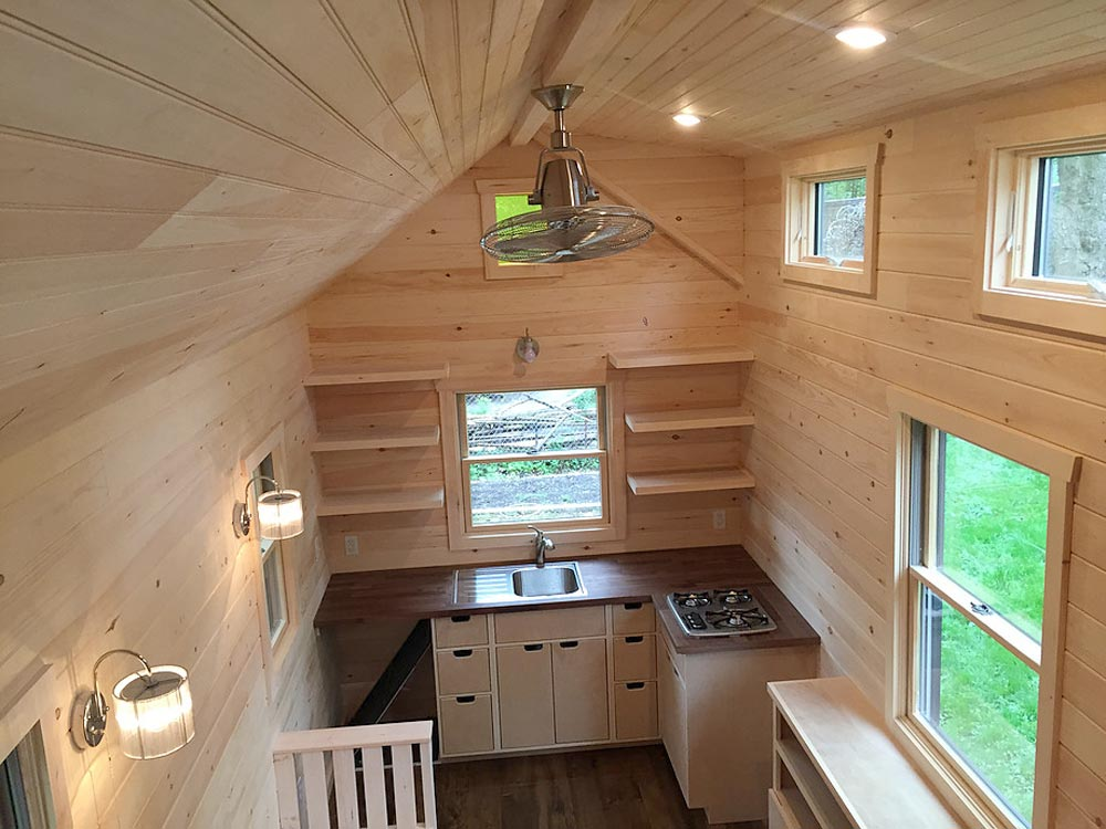 View From Bedroom Loft - Brownie by Liberation Tiny Homes