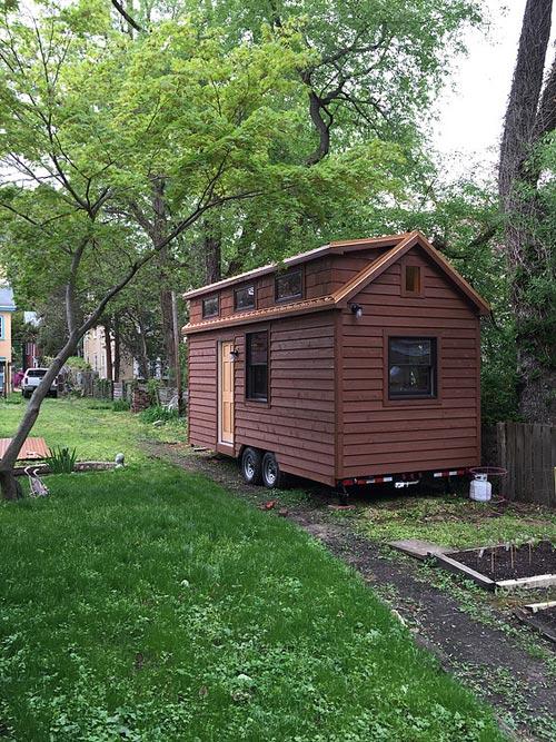 Exterior Cedar Siding - Brownie by Liberation Tiny Homes
