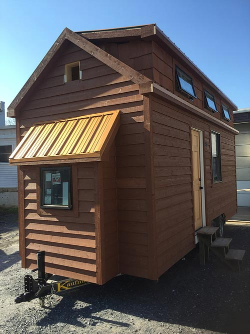 Pop-out over hitch - Brownie by Liberation Tiny Homes