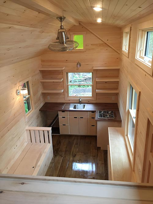 Aerial View - Brownie by Liberation Tiny Homes