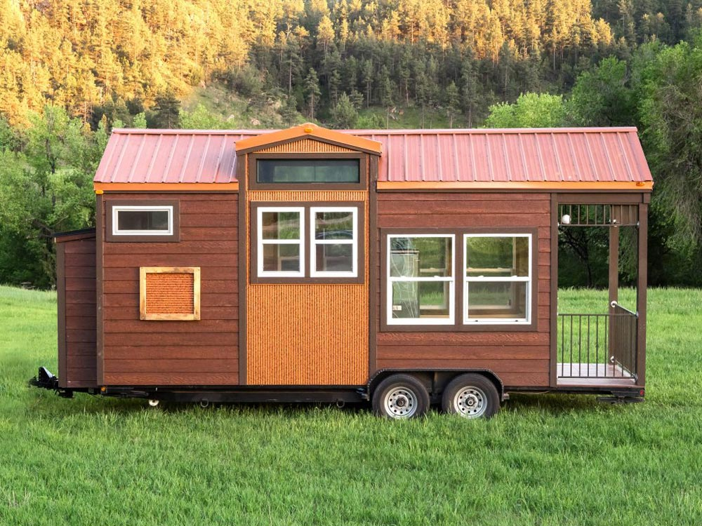 204 sq.ft. Tiny House - Bunkaboose by EcoCabins