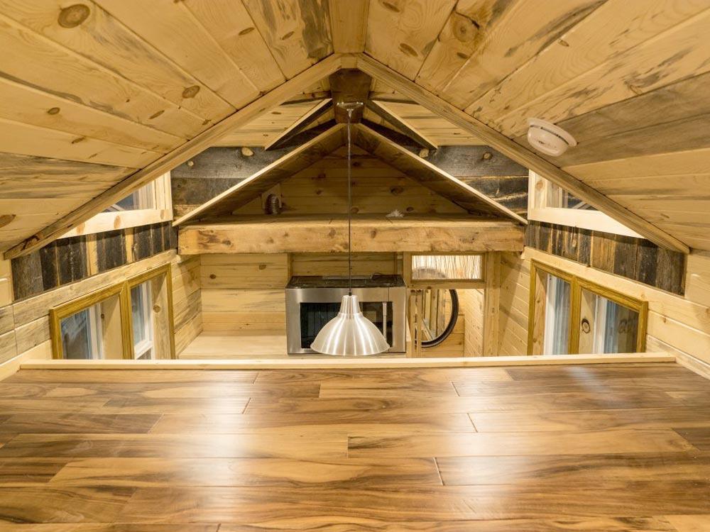 Bedroom & Storage Lofts - Bunkaboose by EcoCabins